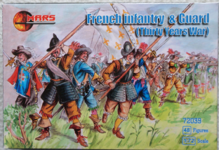 Mars 1/72 MAR72039 French Infantry & Guard (30 Years War)